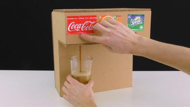 Nützliches DIY: Softdrink-Spender für Zuhause