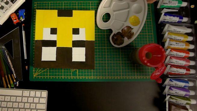 Minecraft-Kunst zum Selbermachen