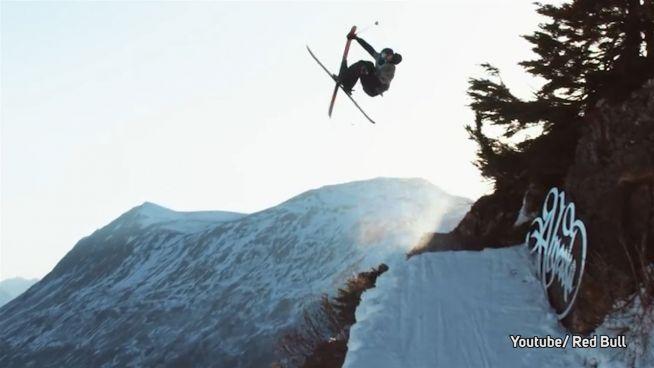 Kein Schnee von gestern: Freeski-Stunts in Alaska