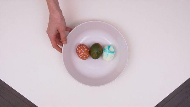 DIY: Ostereier färben