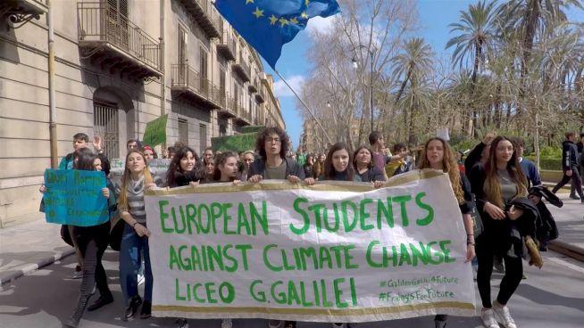 Das erste Mal bei einem Klima-Protest