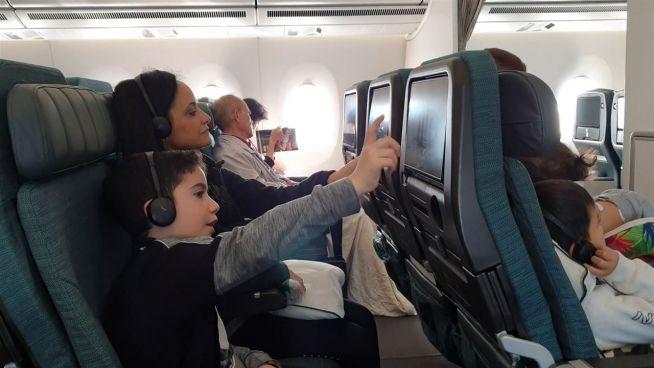 Keine Privatsphäre mit dieser Airline