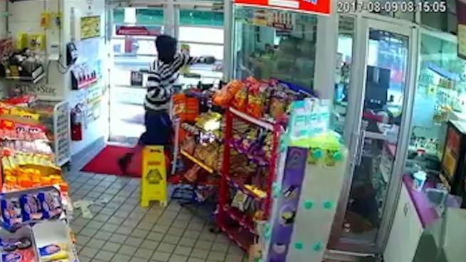 Kein Geld für Kondome: Räuber überfällt Tankstelle