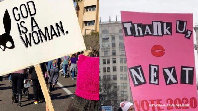 Promis inspirierten 'Womensmarch'