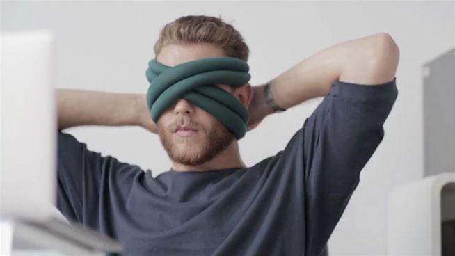 Zum Weggucken: Die Schlafbrille für Dauerschläfer