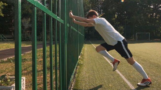 Trainieren wie Fußballprofis: Sprints