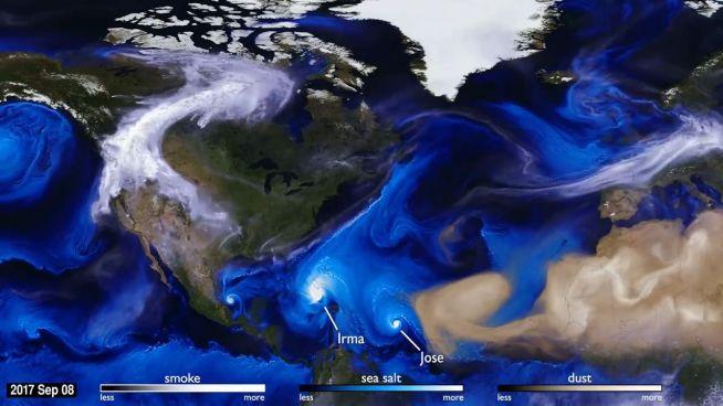 Die Erde macht sich Luft: Winde aus dem All betrachtet
