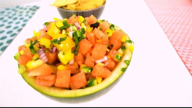 Salsa für sonnige Tage: Wassermelonen-Salsa