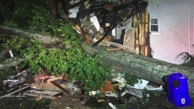 Im Zentrum des Hurrikans: Irma in Lakeland angekommen