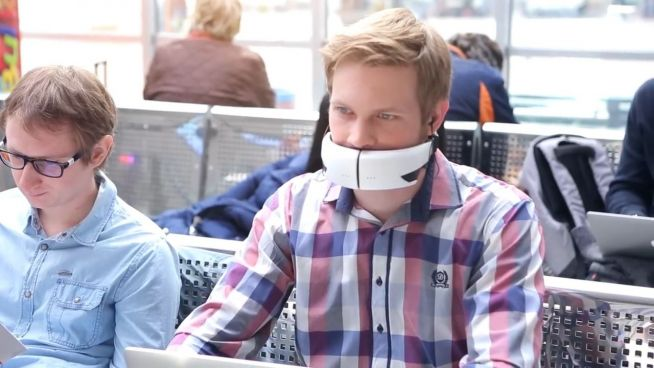 Mit dieser Erfindung kann lautlos telefoniert werden