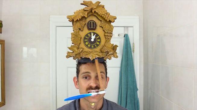 Lifehack: Zähneputzen nicht vergessen