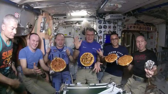 'Pizza Weltraum': Italienischer Abend auf der ISS