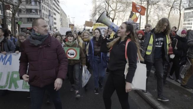 Eine Schüler-Armee gegen den Klimawandel