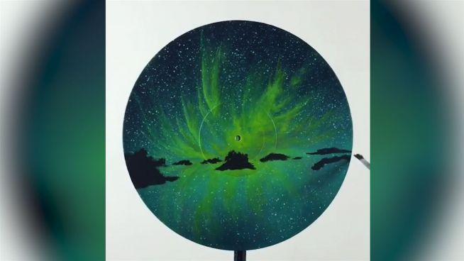 Durchgedreht: Wunderschöne Kunst auf Schallplatten