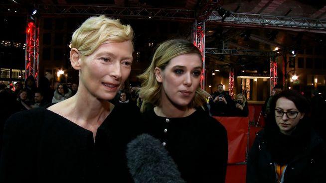 Berlinale: Der überzeugende Auftritt von Tilda Swintons Tochter