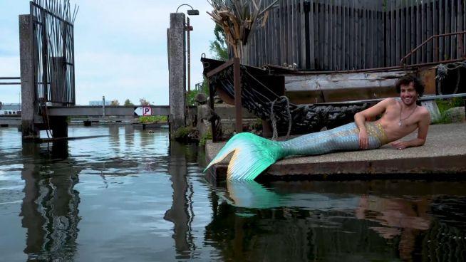Meermann Hyknos: Wie ein Fisch im Wasser