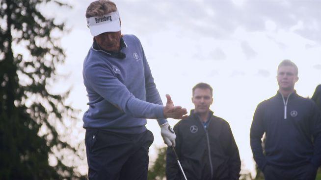 MercedesTrophy: Golf-Lektionen von Bernhard Langer