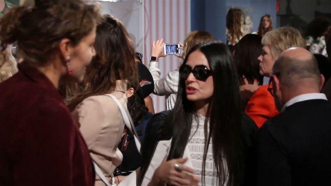 New York Fashion Week: Demis Töchter im Rampenlicht