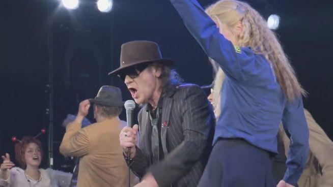 'Hinterm Horizont': Udo Lindenberg rockt die Reeperbahn