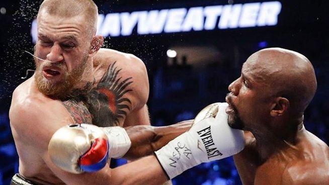 Kampf der Giganten:  Mayweather gegen McGregor