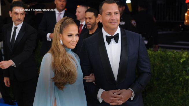 'Peinlicher Moment': A-Rods erste Begegnung mit J.Lo
