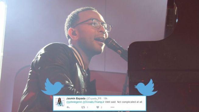 John Legend: 'Donald Trump ist ein Rassist'