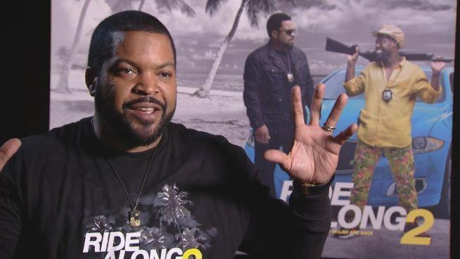 'Bin im Auto, Bitch!': Ice Cube schwänzt Grammys