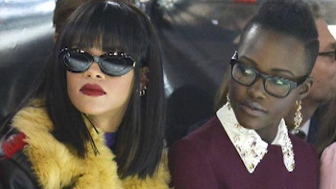 Film geplant: Rihanna und Lupita als Gaunerinnen