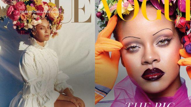 Wer war die Erste? Beyoncé und Rihanna in ähnlichem Look