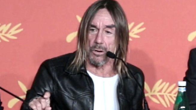 Iggy Pop in Cannes: 'Warum sterbe ich nicht gleich?'