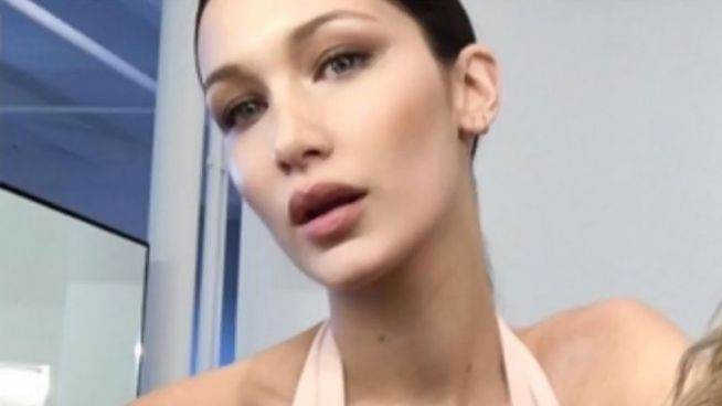 Tiefer Ausschnitt: Bella Hadid ist 'soooo aufgeregt'