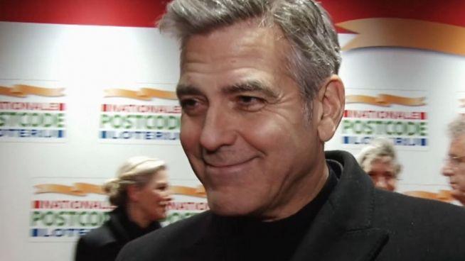 Stolz, stolzer, Clooney: George im Babyglück