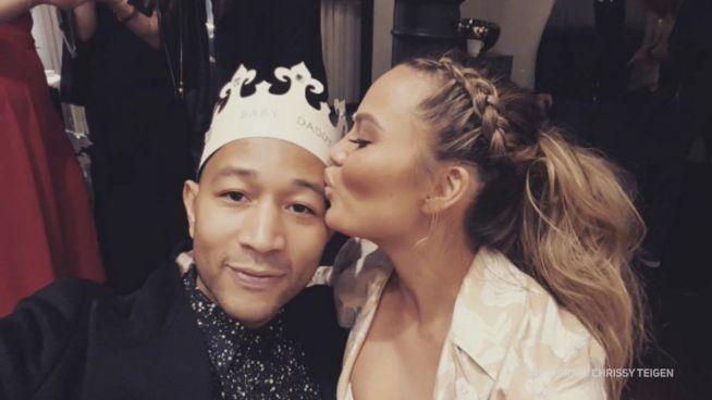 3 Gründe: John Legend und seine Frau sind die Besten