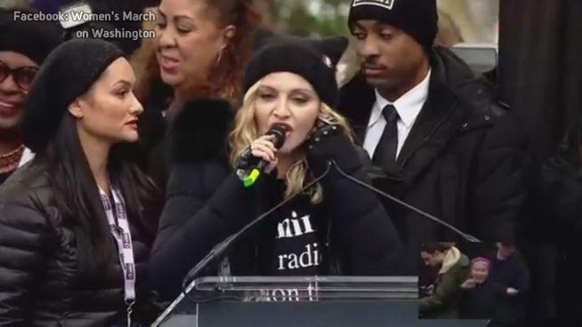 'Widerlich': Madonna kriegt Schelle von Donald Trump