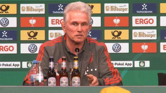 DFB-Pokalfinale: Letztes Spiel für Jupp Heynckes